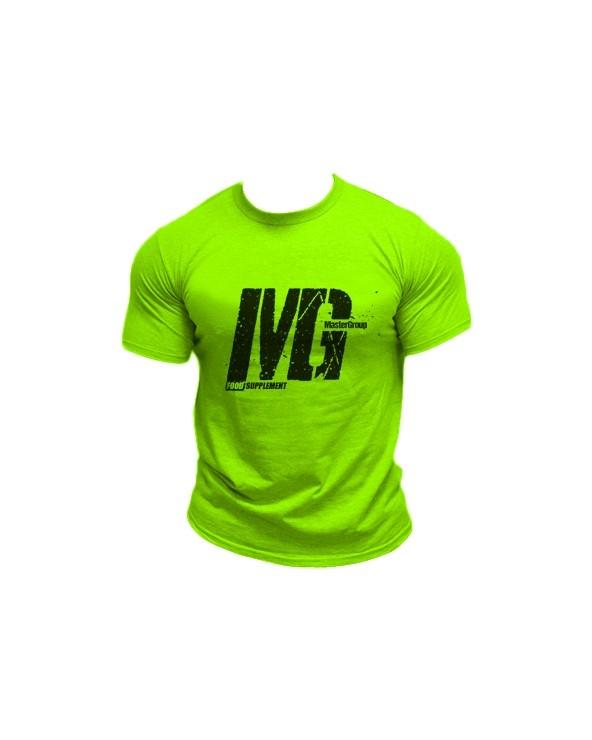 Mg Food Supplement Tshirt Verde Fluo Uomo