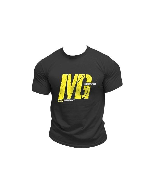 Mg Food Supplement Tshirt Black Man
