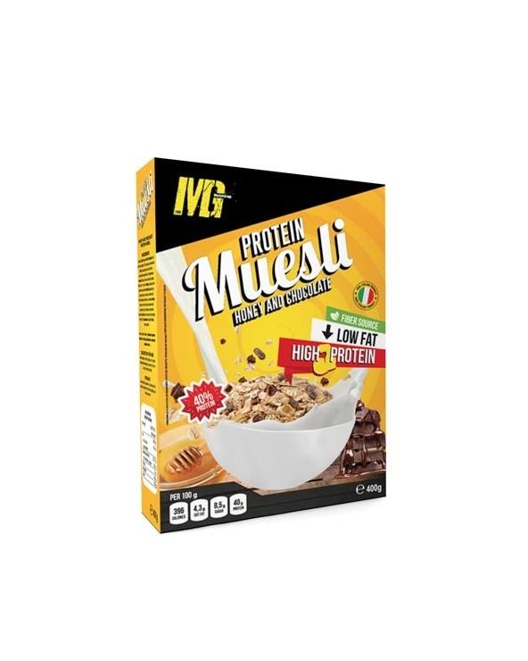 Muesli Cioccolato e Miele Protein 40% 400g