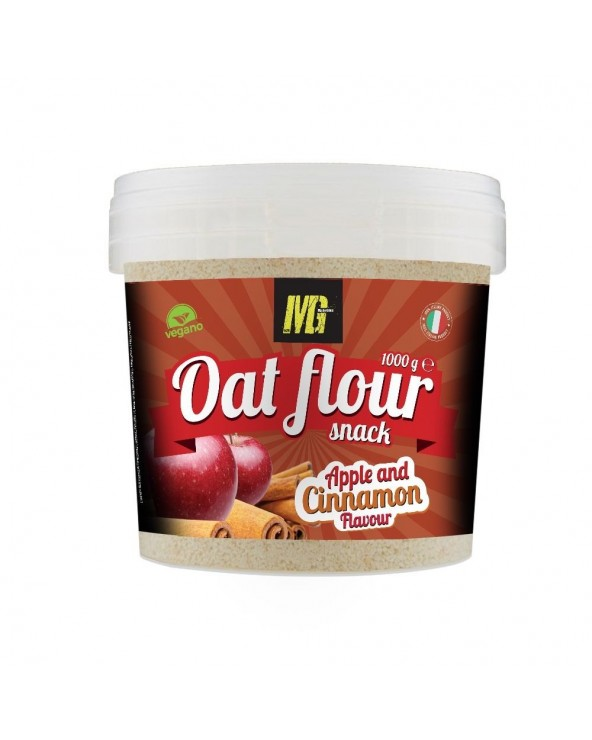 Micronized Oat Flour Apple And Cinnamon 1kg