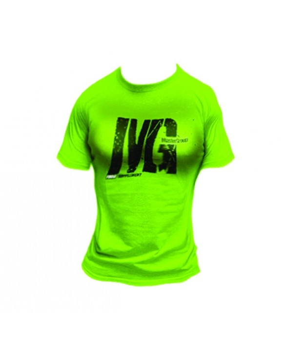 Mg Food Supplement T-Shirt Donna Verde Fluo