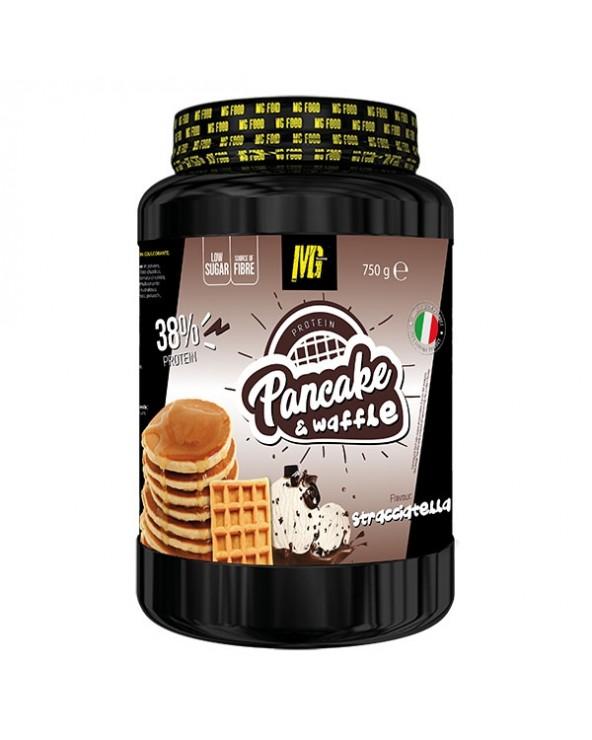 Pancake & Waffle 38% Protein Stracciatella 750g