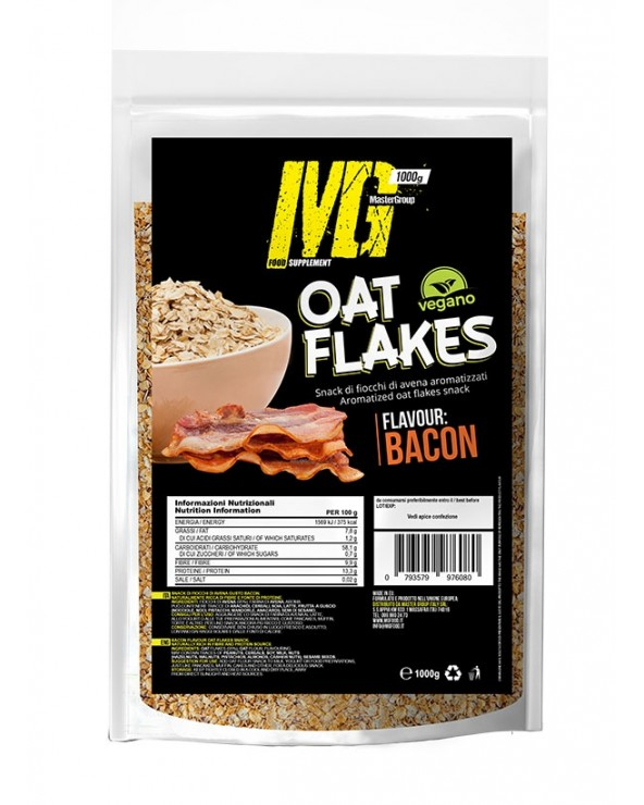 Oat Flakes Baby flavoured Bacon 1000g