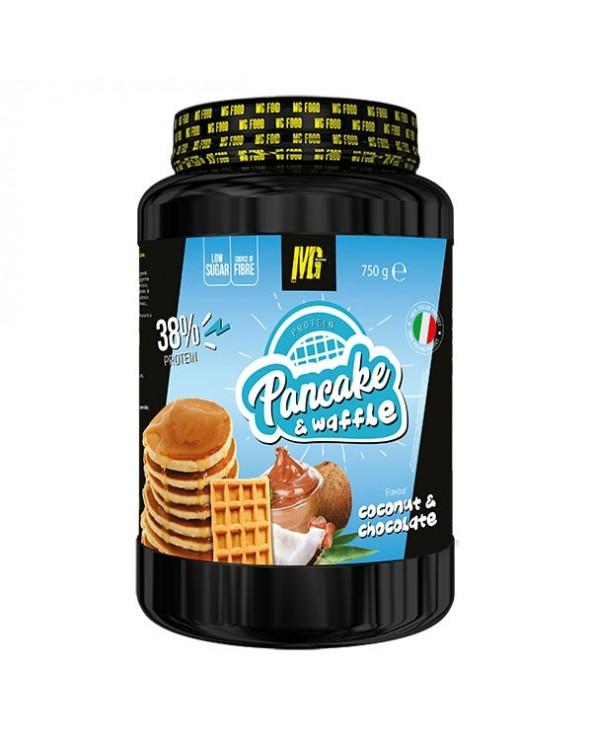 Pancake & Waffle 38% Protein Cioccolato e Cocco 750g