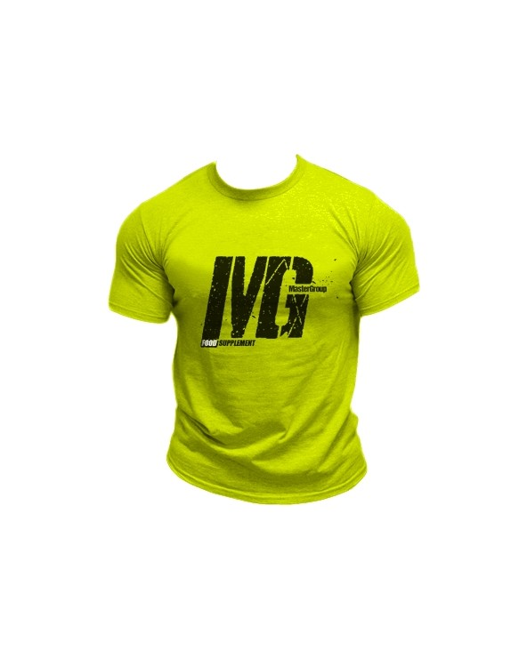 Mg Food Supplement Tshirt Giallo Fluo Uomo