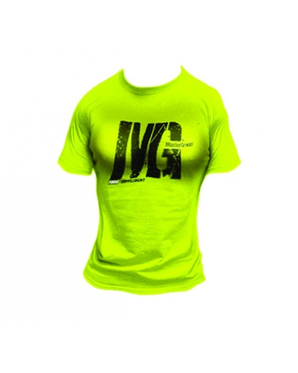 Mg Food Supplement T-Shirt Donna Yellow Fluo