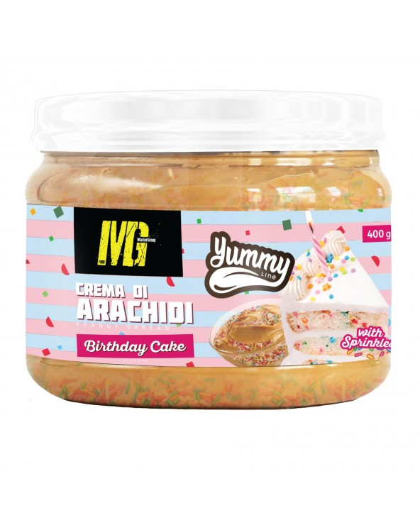 Yummy Line Flavoured Peanut Butter Birthday Cake 400g