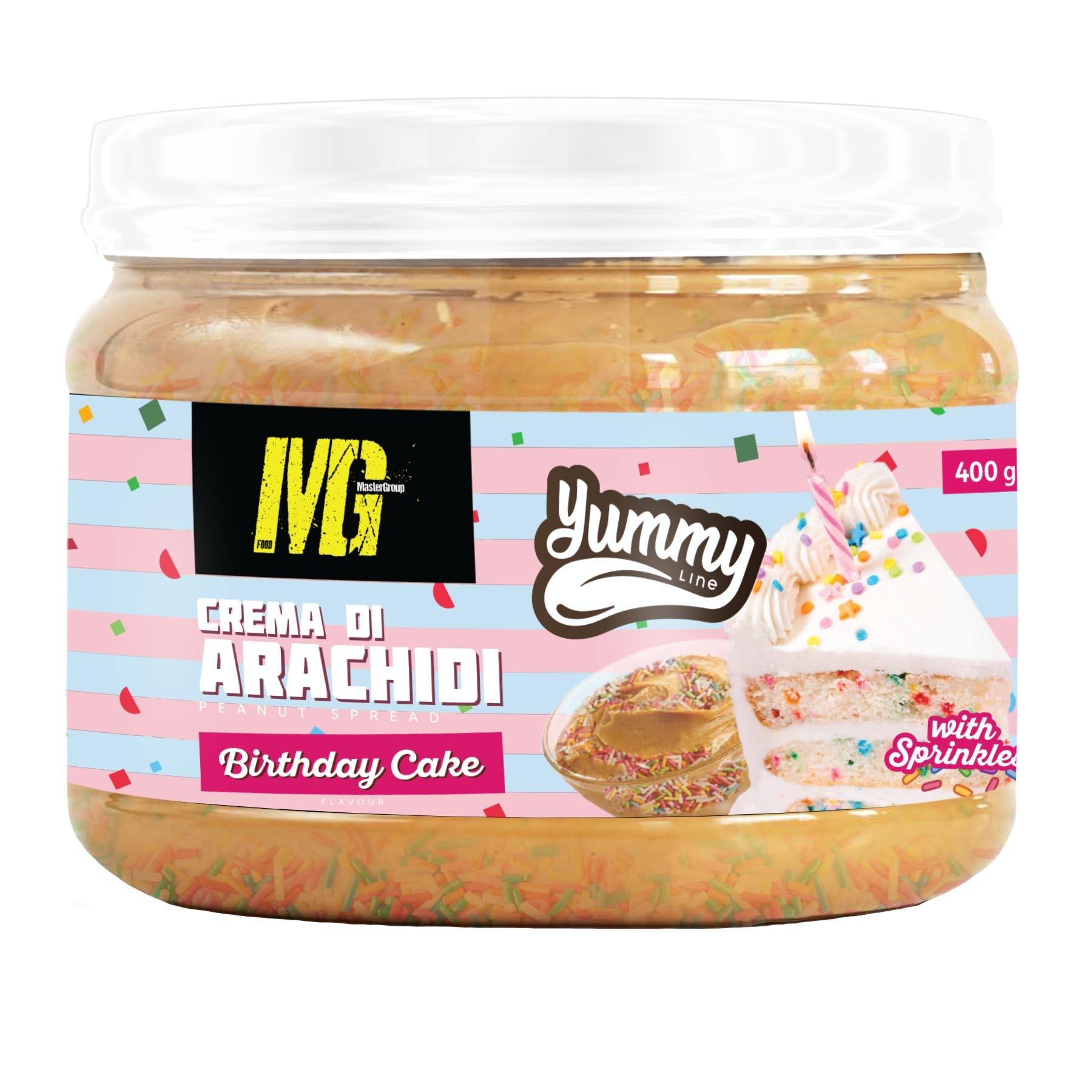 Yummy Line Flavoured Peanut Butter Birthday Cake 400g