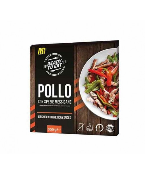 Ready to Eat - Pollo con spezie messicane 300g