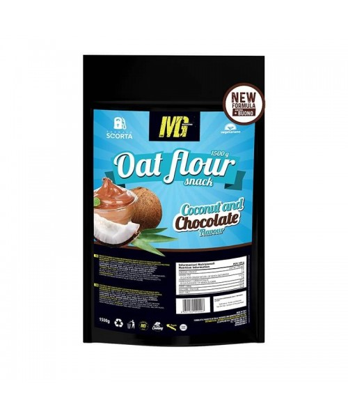 Micronized Oat Flour Chocolate And Coconut 1,5kg