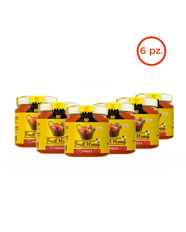 Fruit Honey Strawberry Box 6x280gr