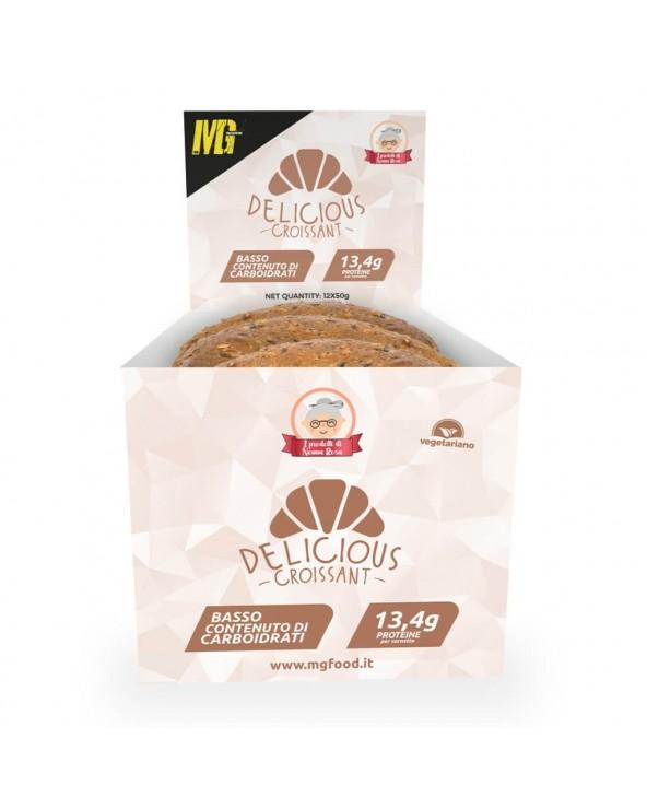 Delicious Croissant 26% Cereals Neutral Taste Protein BOX 12x50gr