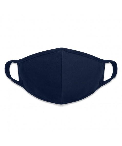 Filter Face Mask in Dark Blue Cotton Man