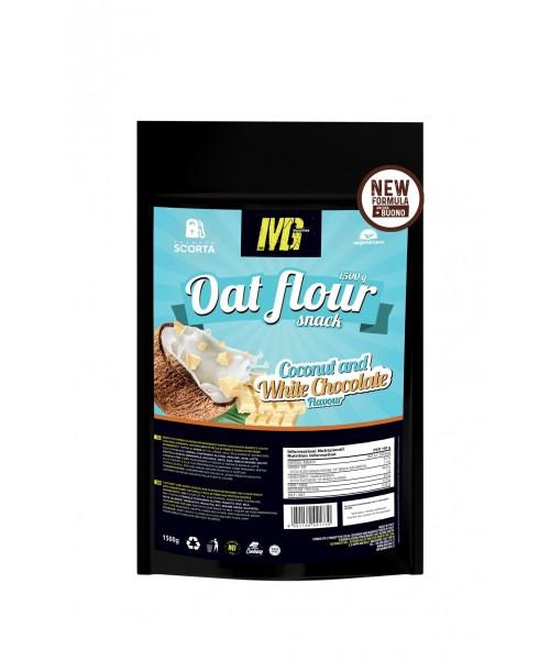 Mg Food Supplement Farina D'avena Micronizzata Cioccolato Bianco e Cocco 1kg