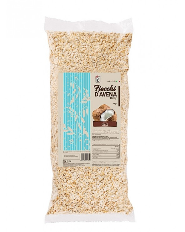 Dilo Aromatized Baby Oat Flakes Coconut 1kg