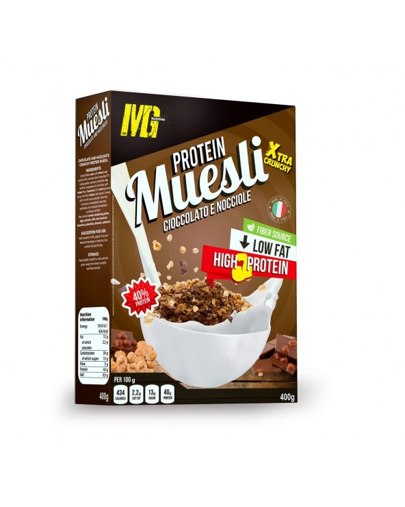 Muesli Chocolate and Hazelnut + Xcrunchy - Muesli Protein 400g