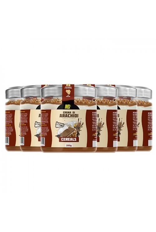Yummy Line Peanut Cream Cereals 6x400g