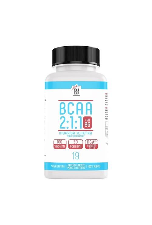 Amminoacidi Ramificati - Dilo BCAA 2:1:1 + Vitamina B6 100Tav
