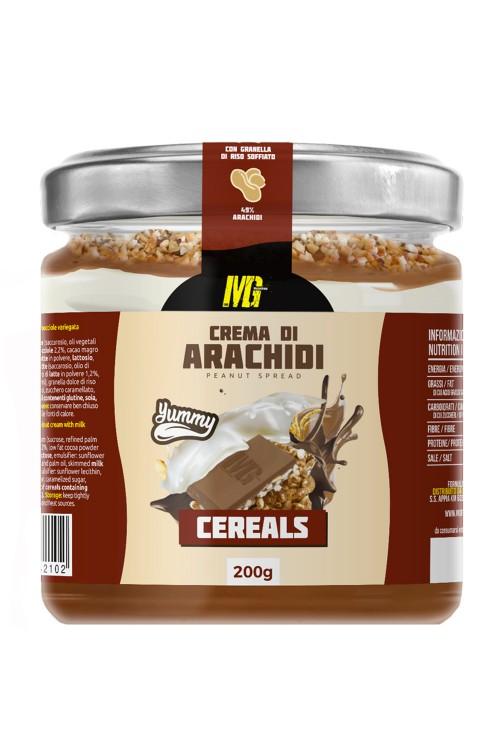 Peanut Cream Cereals - Yummy Line 200g