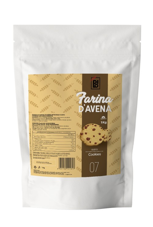 Cookies Flavored Oat Flour - Dilo Farine 1000g