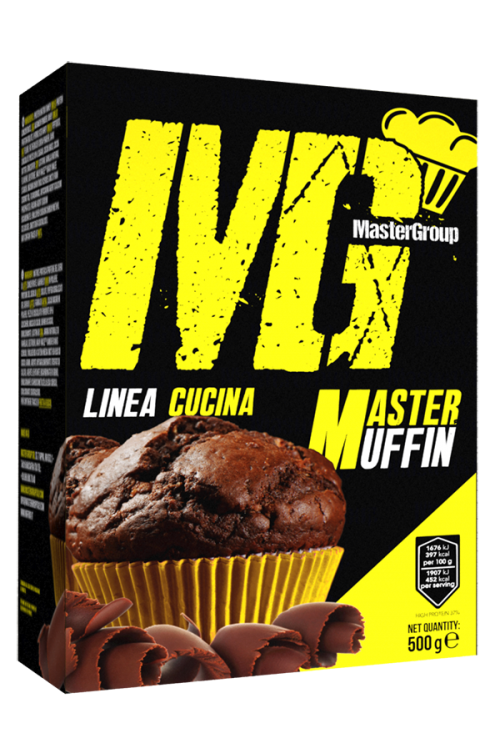 MG Food Supplement Master Muffin Proteici 49% 500g
