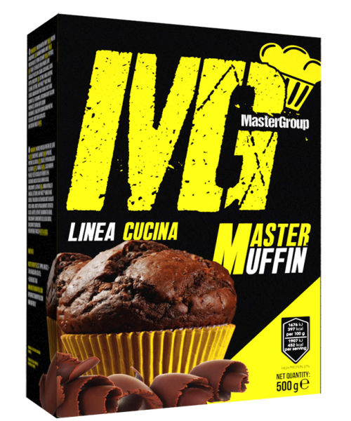 MG Food Supplement Master Muffin Protein 49% 500g