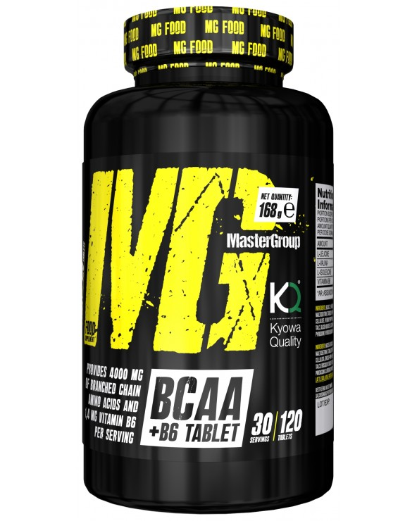 MG Food Supplement Bcaa 2:1:1 Con Vitamina B6 120tab