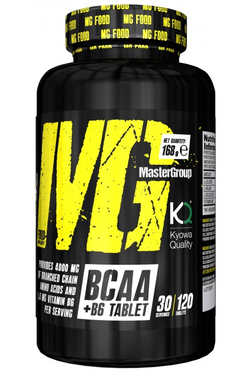 MG Food Supplement Bcaa 2: 1: 1 With Vitamin B6 120tab