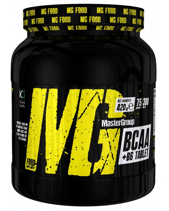 MG Food Supplement Bcaa 2: 1: 1 With Vitamin B6 300tab