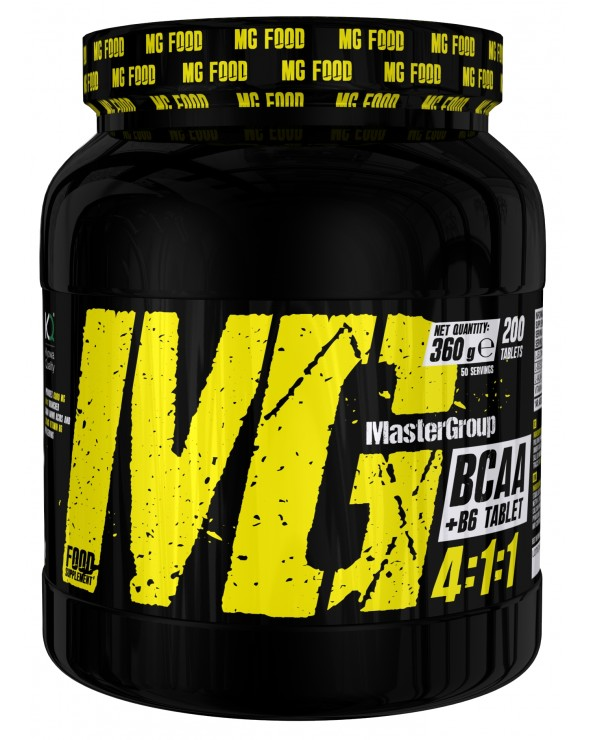 Bcaa 4:1:1 with Vitamin B6 200tab