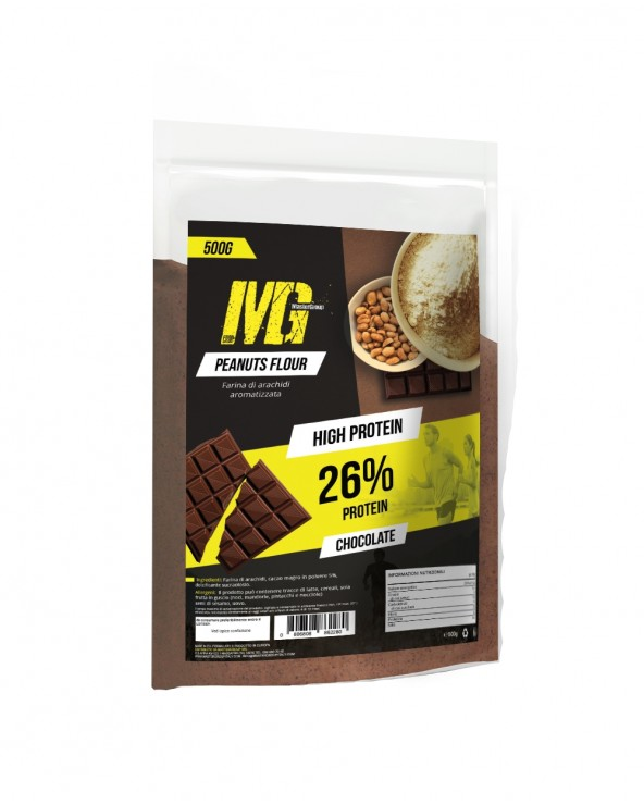 MG Food Supplement Farina di Arachidi High Protein 500g